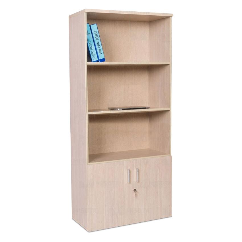 Tủ hồ sơ, tài liệu 3 tầng 2 hộc cánh thuộc dòng tủ được sản xuất dựa trên công nghệ hiện đại, được sử dụng chủ yếu trong các văn phòng có kiểu thiết kế nội thất hiện đại với màu sắcVàng sáng, hoặc trắng kết màu gỗ